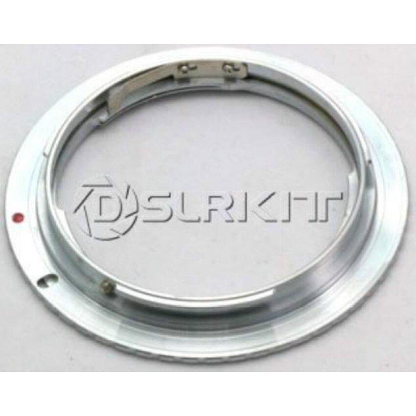 Sliver Adaptor Lensa Cincin untuk C/Y CY Contax Yashica Lensa dan Canoneos EF Adaptor Dudukan-Internasional