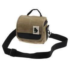 SLR Digital Camera Case Shoulder Bag Backpack For Canon For Sony Brown