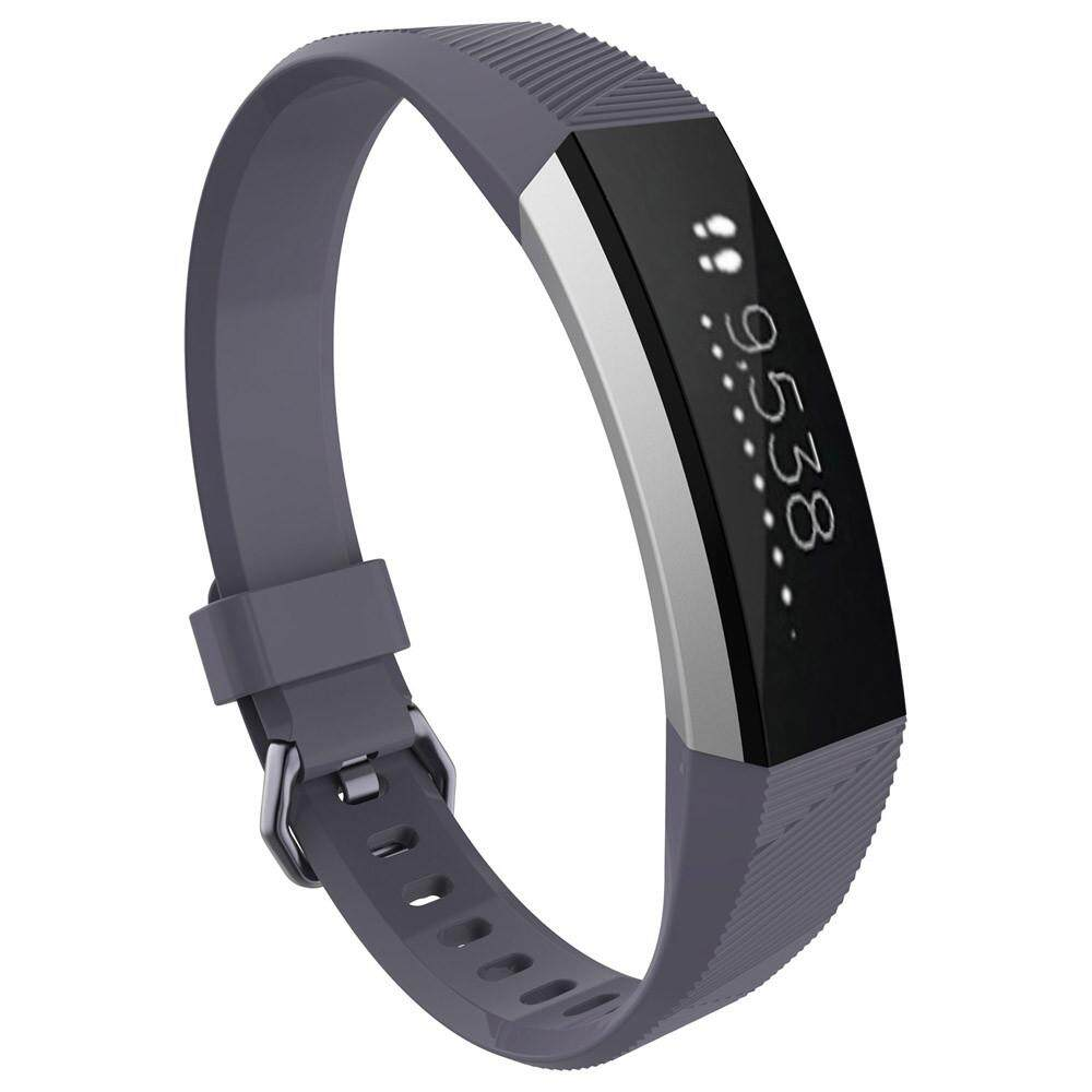 Small Replacement Wrist Band Silicon Strap Clasp For Fitbit Alta HR Watch GY - intl