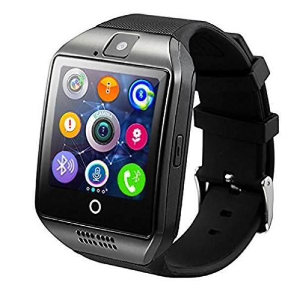 Pintar Jam Tangan, kkcite Bluetooth Pintar Jam Tangan Sweatproof Ponsel Sim 2G GSM dengan Kamera Dukung Monitor Tidur Pesan Dorong Anti Hilang untuk Android HTC Sony Samsung LG Google dan iPhone Ponsel Pintar-Internasional
