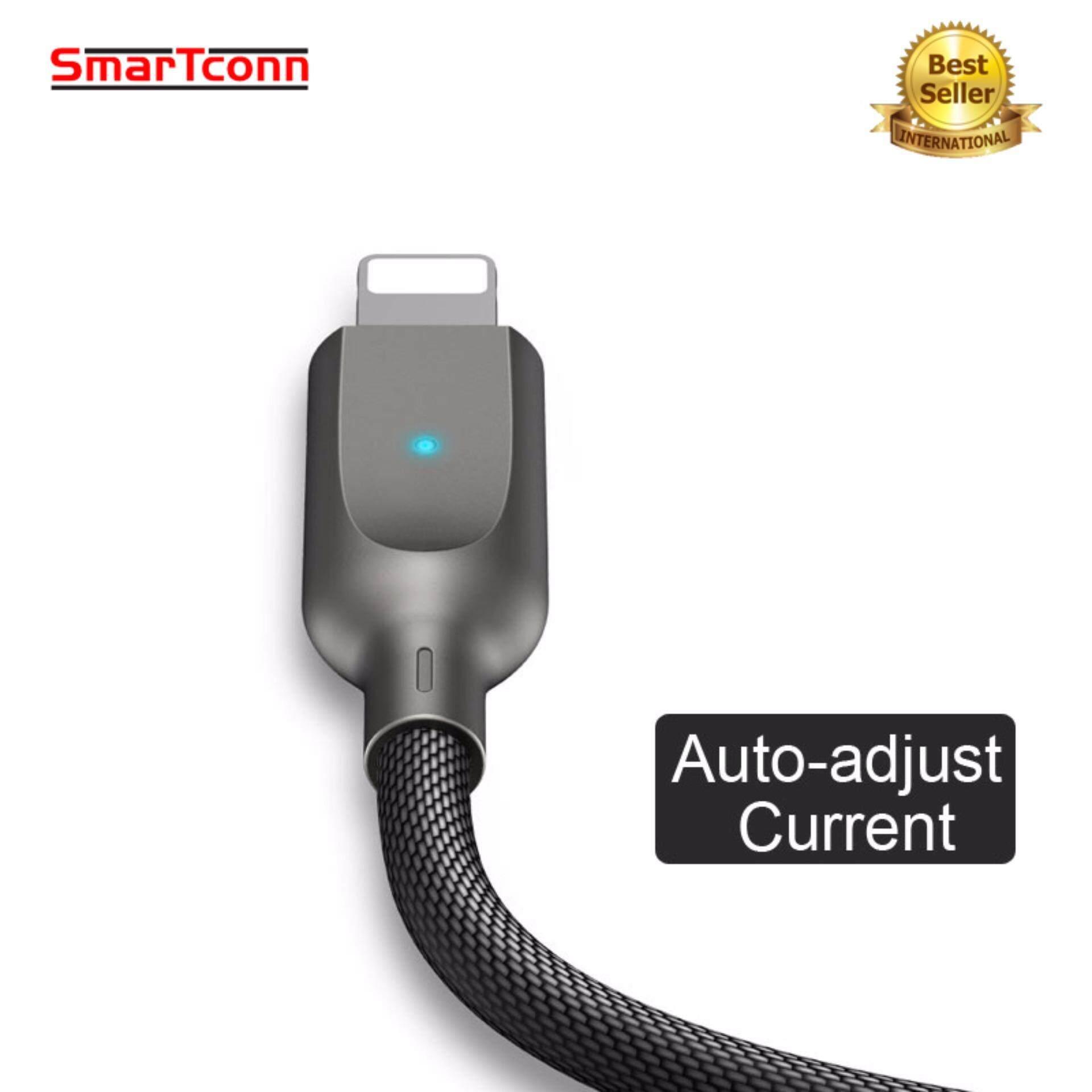 Mcdodo Zinc Knight 18m Auto Disconnect Lightning Data Cable Black 12m Smartconn Otomatis Putuskan Usb Lightnings Kabel Anda Apple X 8 7 6 Ipad Usams Telepon Ringan