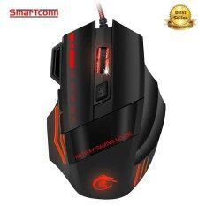 SmarTconn Gaming Mouse Ajustable 3200DPI 7Buttons Optical USB Game Mouse Colorful Breathing Variable Lights Mouse Malaysia