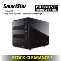 SmartStor DS4600 4 Bay Hot Swappable Direct Attached Storage DAS