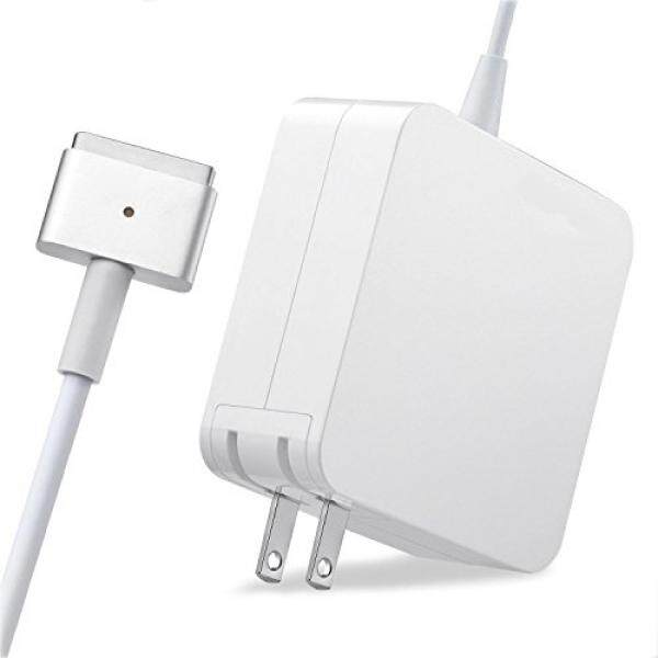 Sodysnay R60-T MacBook Pro Charger penggantian 60 W MagSafe 2 Magnetik T-Tip Power Adaptor Pengisi Baterai untuk Apple MacBook Pro 13-Tampilan Retina Inci-Setelah Akhir 2012- internasional