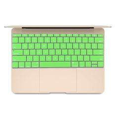 Soft 12 inch Silicone Keyboard Protective Cover Skin for new MacBook, American Version(Green) Malaysia