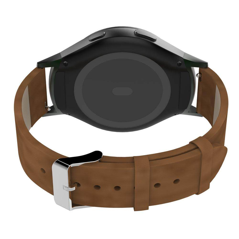 Price Soft Leather Watch Band Strap Adapters For Samsung Galaxy Gear S2 R720 Bk Intl Online China