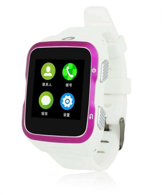 Solmed SL-83 3G Android Smart Watch White with Pink Side Cover - intl