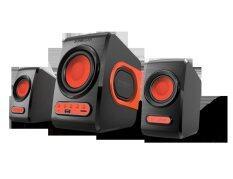Sonic Gear Quatro V Speaker - Festive Red Malaysia