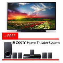 "Sony 40"" Full HD LED TV 40R350E FREE SONY HOME THEATER SYSTEM WITH WARRANTY (2 Years Malaysia Warranty)"