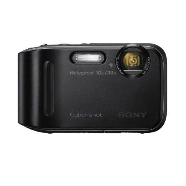 Sony DSC-TF1/B 16 Mp Tahan Air Kamera Digital dengan 2.7-Inch LCD (Hitam) (Model Lama)-Intl