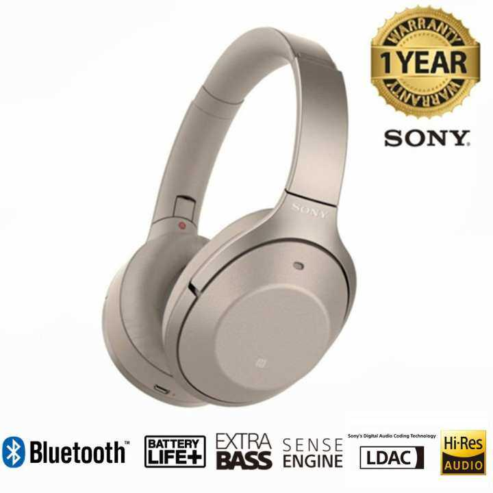 sony wh 1000xm2 bluetooth over ear noise cancelling. Black Bedroom Furniture Sets. Home Design Ideas