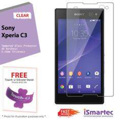 Sony Xperia C3 D2533 Tempered Glass Protector 0.26mm + 9H Hardness (HD Clear)