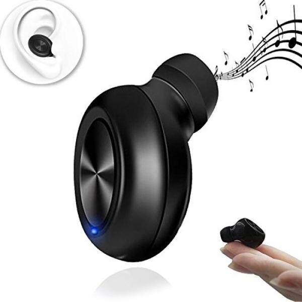Soulsoundmagic Earbud Bluetooth Terbaik Earphone Mini-S Terkecil Earpiece Wireless Headphone Tak Kasat Mata dengan 6 Jam Playtime Mobil HDD SAS untuk iPhone dan Android Smart ponsel Bluetooth Headset Earbud Ponsel-Intl