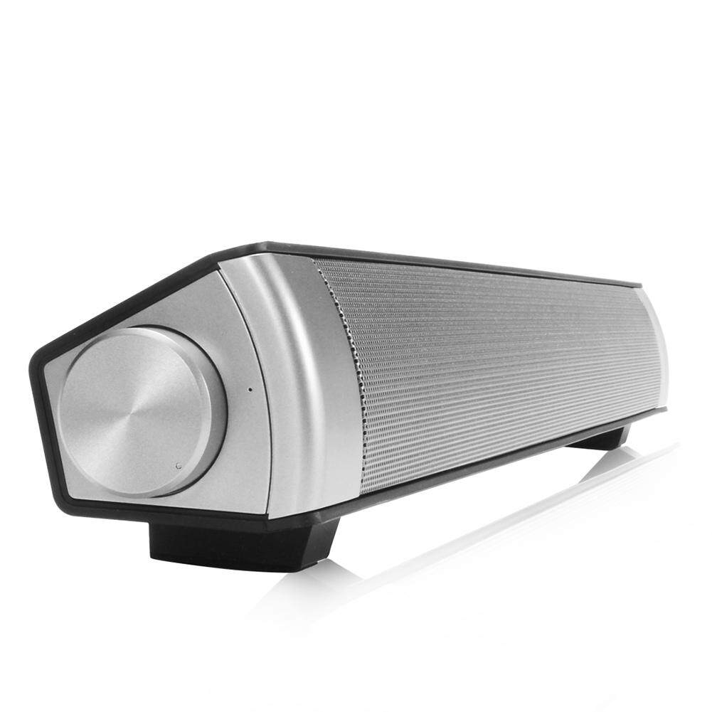 Sound Bar Wireless Subwoofer Bluetooth Speaker Black - intl