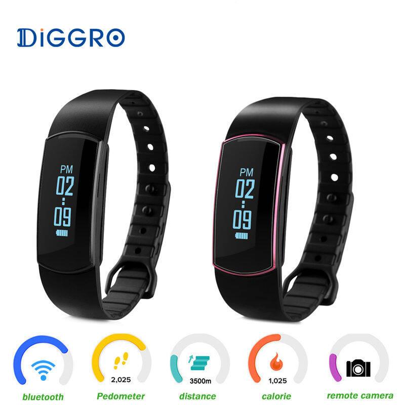 Olahraga Tali Bluetooth Pintar Jam Tangan Kesehatan Gelang Gelang Pintar untuk iPhone Samsung Htc Lg Sony Xiaomi Jam Tangan Pintar-Internasional