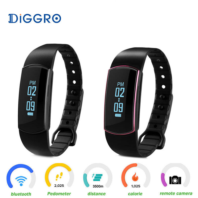 Sport Band Bluetooth Smart Watch Health Bracelet Smart Wristband for iPhone Samsung HTC LG Sony Xiaomi Smartwatch - intl