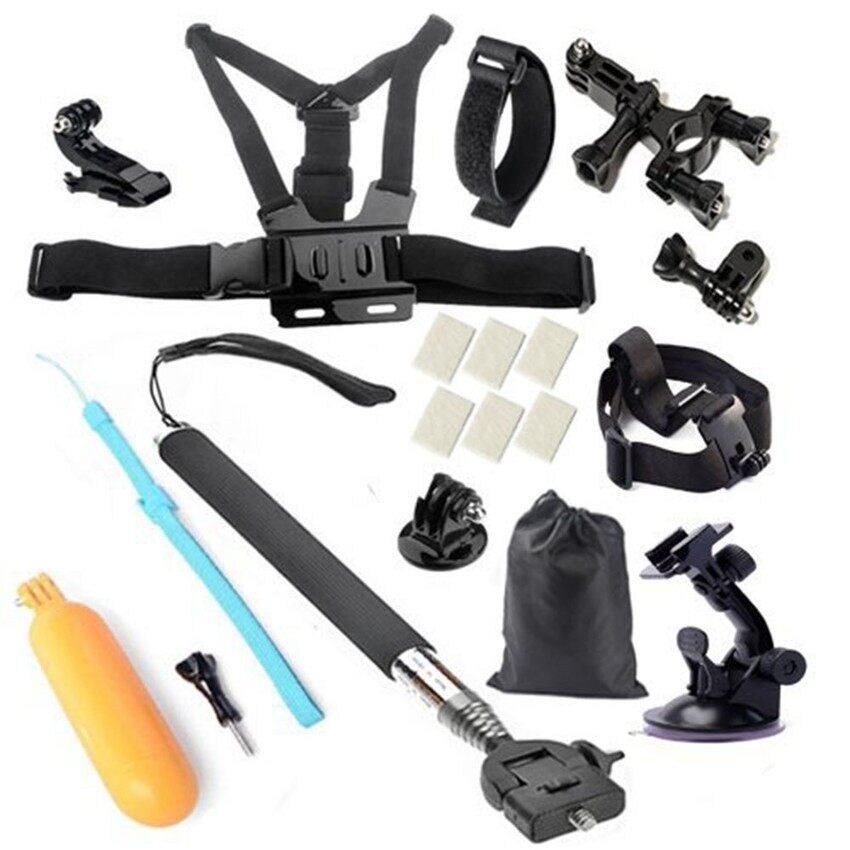 Olahraga Kamera Go PRO Set Aksesori untuk SOOCOOC30/S70/60B/60/C10Gopro Pahlawan 4 SJCAM SJ4000 SJ5000 Xiaomi Yi (Intl)