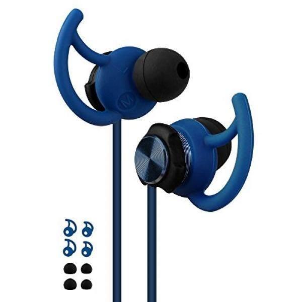 Olahraga Earphone, Maberry Kabel Noise Cancelling HI FI Pengait Olahraga Pelantang Telinga Stereo Headphone Bass