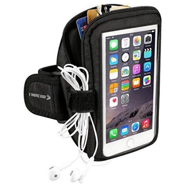 Ikat Lengan Olahraga: sel Tempat Ponsel Case Tali Jam Tangan dengan Kantung Ritsleting/Olahraga Lari Latihan untuk Apple Iphone 6 6 S 7 Plus android Samsung Galaxy S5 S6 S7 S8 Note 4 5 Edge Htc Lg ASUS Pixel-Intl