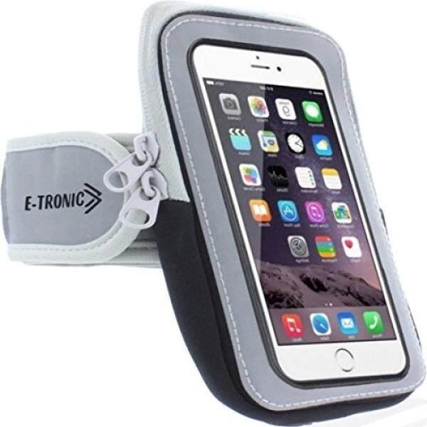 Ikat Lengan Olahraga: sel Tempat Ponsel Case Tali Jam Tangan dengan Kantung Ritsleting/Olahraga Lari Latihan untuk Apple Iphone 6 6 S 7 Plus sentuh Android Samsung Galaxy S7 Note 4 5 Edge Htc Lg Pixel-Intl