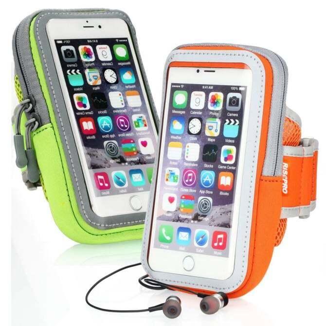 Ikat Lengan Olahraga, Ponsel Armbag Kantong HP Multifungsi Mengantongkan Outdoor 2 Pack untuk Iphone7 7