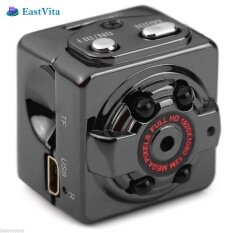 Sq8 Mini Camera 1080p Video Camcorder Infrared Night Vision Motion Sensor Dv Digital With Holder Support 32gb Card Ar30 By Lumiparty.
