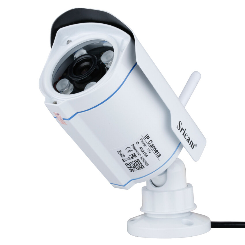 OurGoal Sricam SP007 Wireless IP Camera CCTV Security 720P H.264 Megapixel ONVIF TF Slot