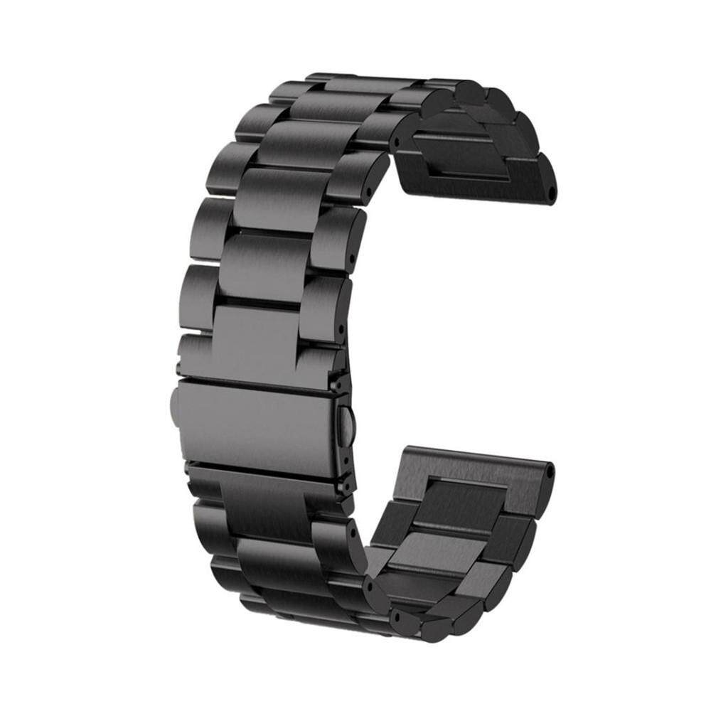 Stainless Steel Watch Bracelet Band Strap For Garmin Fenix 5x GPS Watch BK