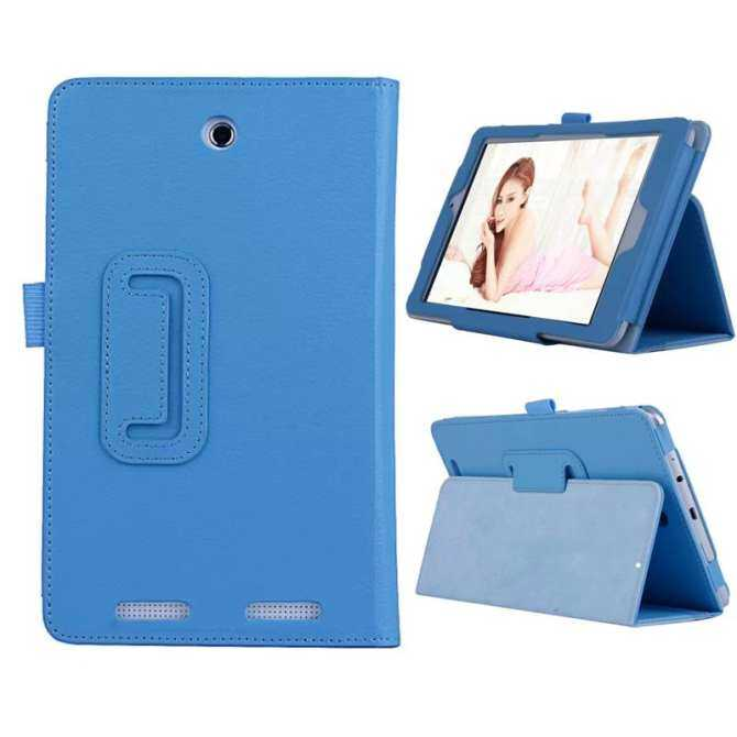 Stand Case Cover For Acer Iconia Tab 8 W1-810 8inch Tablet Light Blue - intl
