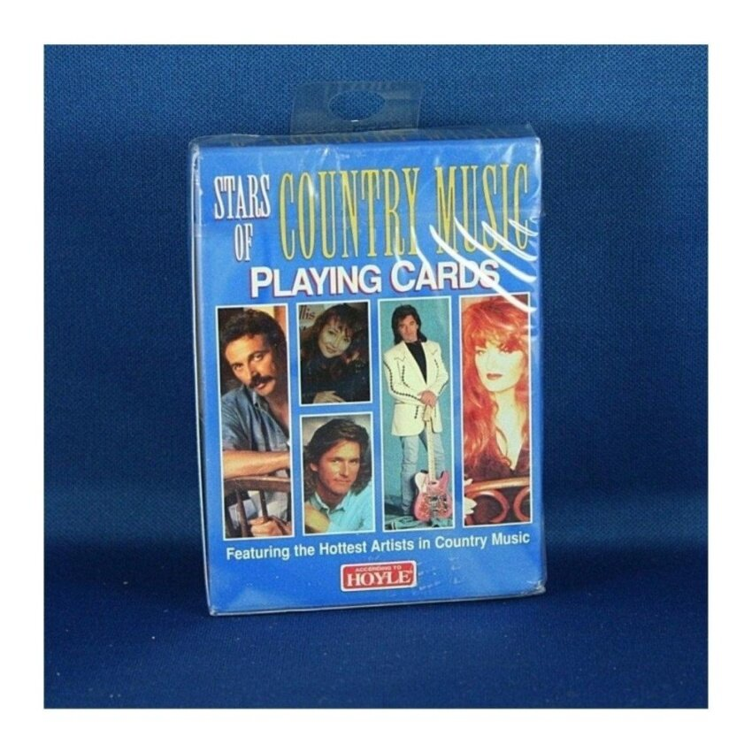 Stars of Country Music Playing Cards Collectable and Playable - intl