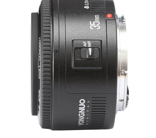 SunnyShopYN35mm F2 Lensa 1:2 AF/MF Wide-Angle Fixed/Prime Auto Lensa Fokus untuk Canon EF Gunung EOS kamera-Intl