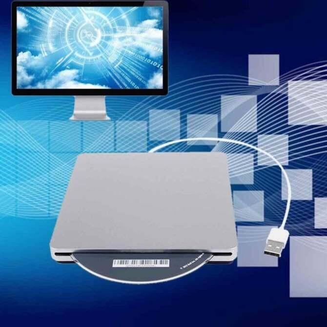 Superdrive USB External Slot DVD CD-RW Mobile Drive Burner forApple Macbook Pro