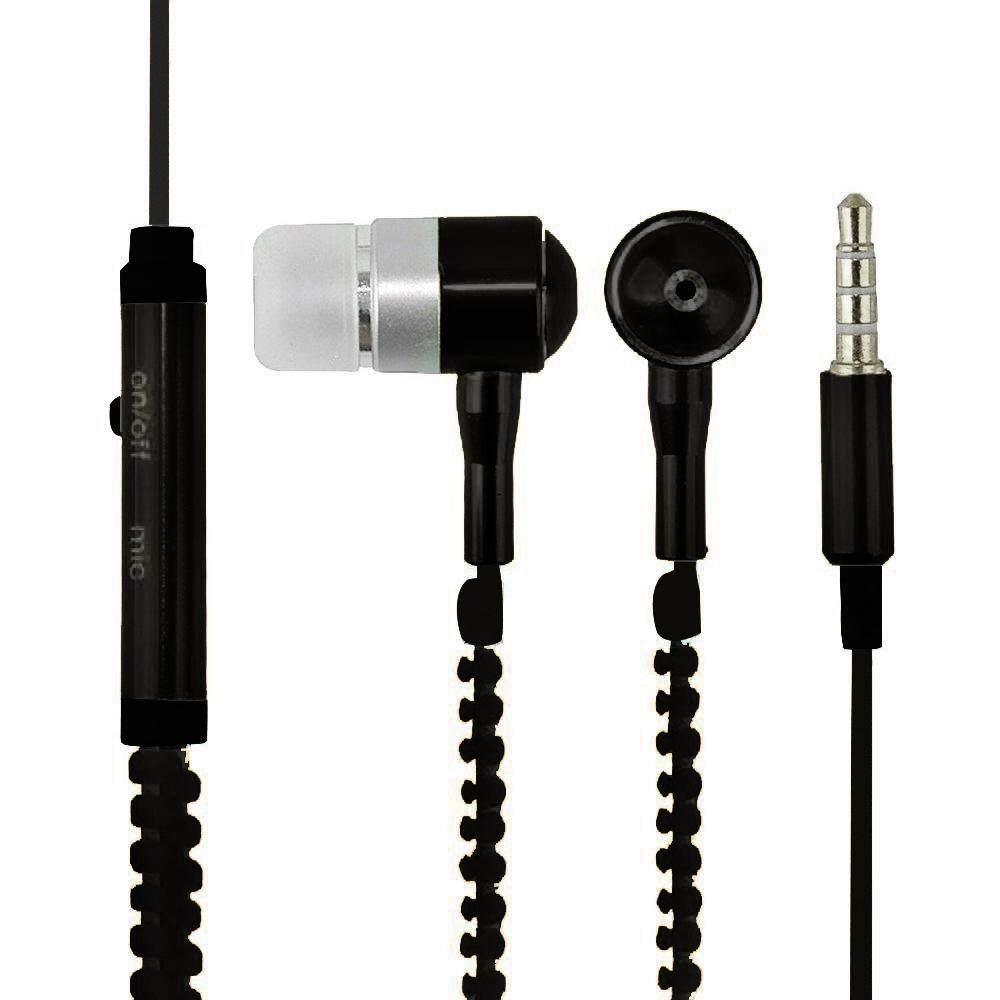 Ritsleting Earphone Stereo Bas Di Telinga Headset Kabel 3 5 Mm Avan A6 Gamer Sejati Svoovs Dalam Logam Dengan Mikrofon 35 Biru