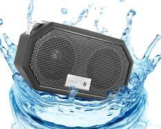 svoovs OXoqo IP66 Bluetooth 4.0 Portable Waterproof Wireless Speaker with Built-in Mic, Speaker for IPhone IPad IOS and Android Audio Devices, Black
