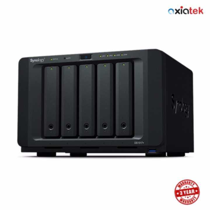 Synology DiskStation DS1517+ 2GB 5-Bay NAS