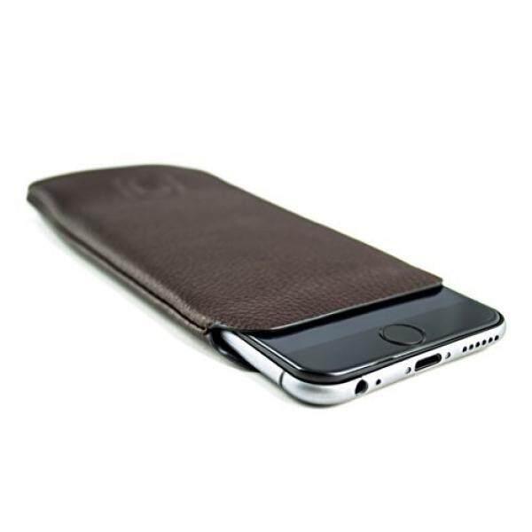 Kulit Sintetis Lengan untuk iPhone 8, Iphone iphone 6 dan 6 S dengan Dockem-Ultra Ramping Profesional Eksekutif Dompet Kulit Palsu Case-Intl