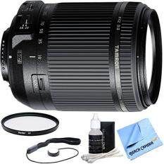 Tamron 18-200mm Di II VC All-In-One Zoom Lens for Nikon Mount includes Bonus Vivitar 62mm Multicoated UV Protective Filter and More