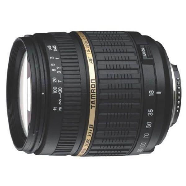 Tamron AF 18-200 Mm F/3.5-6.3 XR Di II LD Aspherical (IF) makro Lensa Variabel untuk Canon Digital Kamera SLR (Model A14E)-Versi Internasional (Tidak Ada Garansi)-Intl