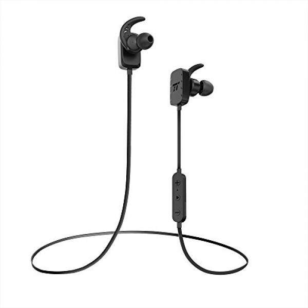 5b0ca0266b7 TaoTronics Bluetooth Headphones Wireless In Ear Earbuds Sports Earphones  with Microphone, Black (8 Hours