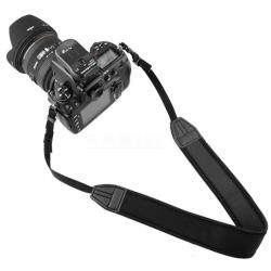 Teekeer Black Adjustable Padded Skidproof Neoprene Camera Neck Strap For Nikon Canon SLR DSLR Camera
