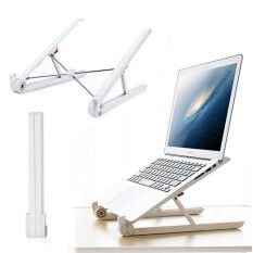 Teekeer Portable Laptop Stand Foldable Adjustable Notebook Holder Laptop Stand For Desk Adjustable Portable Cooling Lightweight Compact Universal Fit For PC Macbook Computer