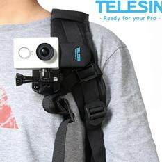 Telesin Backpack Rec-Mounts Clip Fast Clamp Mount For Gopro Hero 3 3+ 4 By Sixstar It.