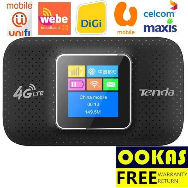 Tenda 4g185 4g Lte Advanced Portable Wireless Wifi Modem
