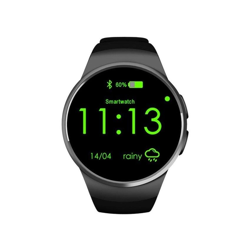 Compare Price Tenstar Kw18 All In 1 Bluetooth Smart Watch Phones Sim Wrist Smartwatches For Ios Android Smartphones Support Sim Tf Card Heart Rate Monitor Intl On China