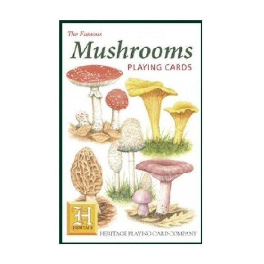 The Famous Mushrooms Playing Cards - intl