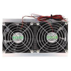 Thermoelectric Peltier Refrigeration Cooling System Kit Semiconductor Large Radiator Cold Conduction Module Double Fans Malaysia