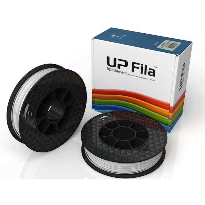 Tiertime UP Fila PLA White 3D Printer Filament 1.75mm 1KG (2x500g)