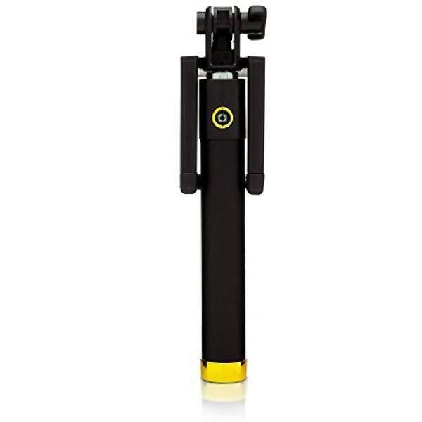 Hari Ini 60% Off! Fotogroov Selfie Stick Kompak Ukuran Saku Ponsel Pintar Bluetooth Kualitas Terbaik Monopod untuk iPhone 6 6 S 5 5 S Android Ponsel Kamera GoPro (Emas) -Intl