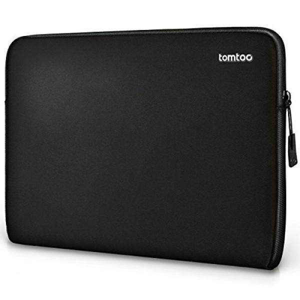 Tomtoc Laptop Sleeve for 12.3 2017 New Surface Pro 5 /4 / 3 13 Inch acBook Pro Touch Bar Dell XPS 13 2018 11.6 Acer HP ASUS Samsung Chromebook Tablet, Black - intl
