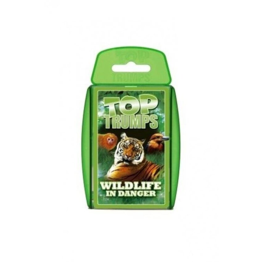 Top Trumps Wildlife in Danger Card Game - intl